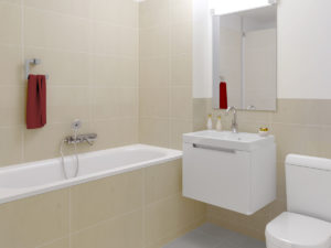 3,5-Zi. Whg - Stimmungsbild Badezimmer