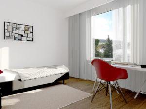 4,5-Zi. Whg - Stimmungsbild Schlafzimmer 3